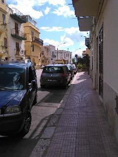 l'uscita sulla strada principale