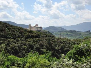amazing view spoleto umbria
