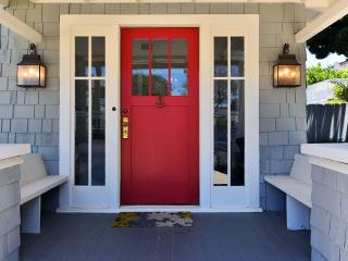 Front door and porch
