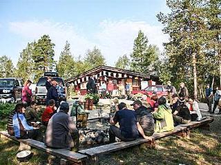 Øvre Pasvik camping, Finnmark