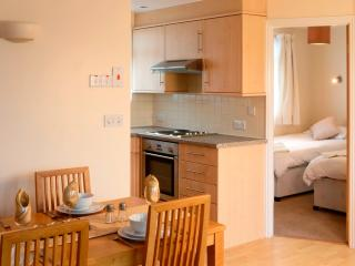 Puffin comfort accommodation open plan kitchen, diner and lounge to maximise space