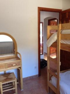 bunk bed room, downstairs