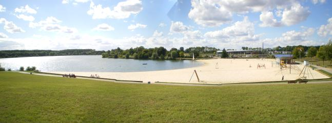 Lac de Monneraie - Beach, Nature Walks, Cycling and Watersports Complex, 15 minutes drive away.