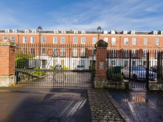 Rugby Square Development - Front Entrance Gates