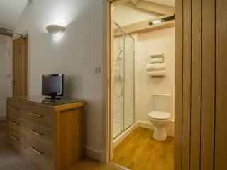 The en-suite shower room in the master bedroom