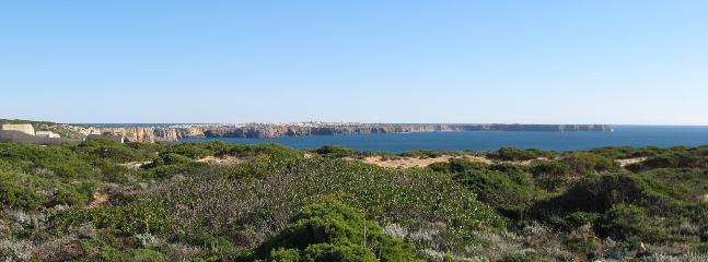 sagres seen from the lighthouse