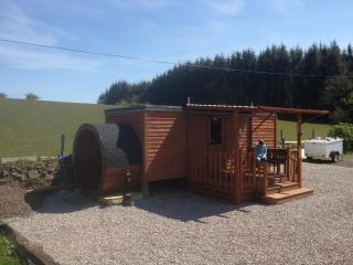 shower and toilet block for glamping pods