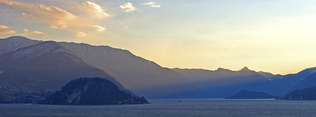 View across to Bellagio