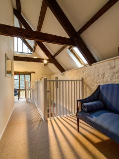 Old beams are a fabulous feature.