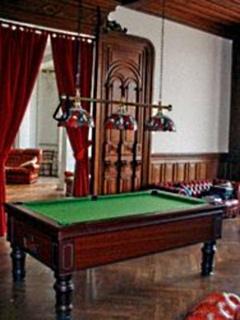 Walnut panelled Pool room