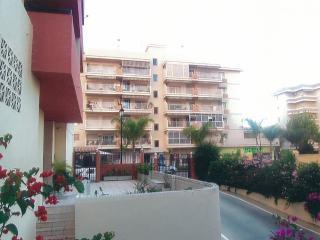 Apartment block entrance