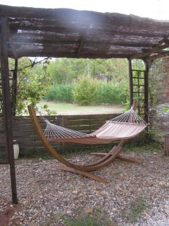 farniente, pergola and hammock area for total relaxation.