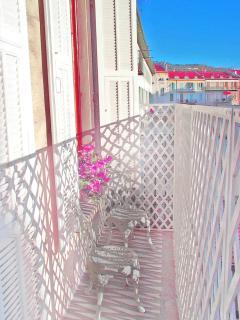 South-facing Balcony