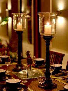 Dining at Villa Kodok