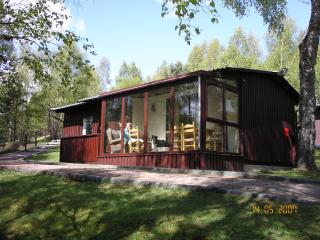 Chalet near Aviemore, six miles from Lake Garten, Carrbridge