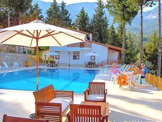 Holiday Villa  Beycik pool sea forest view Turkey.