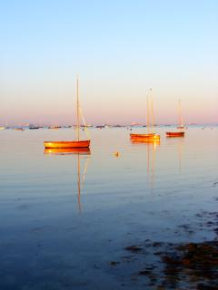 View of the Boats in the Solent