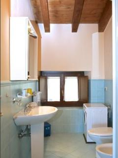 Toilet, Washing machine and Shower