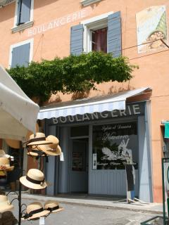 Our favourite boulangerie, walk to the village for your fresh bread and croissants