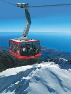 Cable car to-from mount Olympos (Tahtali mountain)