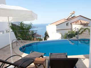 economic villa with perfect sea view, Kalkan