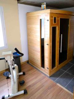 vue sur le sauna (2 personnes)
