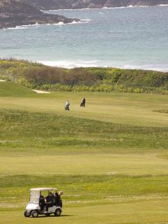 View over Newquay Golf Course