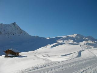 La roselette, one of the many uncrowded pistes