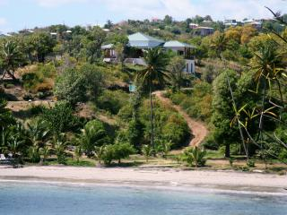 Two Bays Villa at Cabier in the original and natural Caribbean