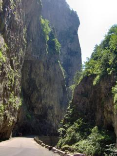 Bicaz Gorges (40 km from Vaduri)