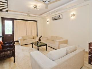 The Beautiful Living Room with Italian Marble Flooring and Lcd Tv , WIfI , Sofa Sets , Balcony etc..