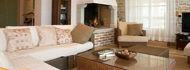 open fire in the lounge for those cosy evenings