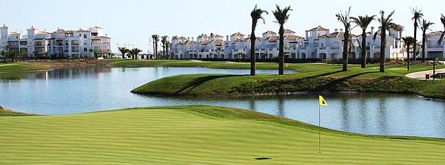 Stunning View of the Nickalus Design golf course at La Torre