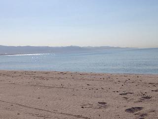 Sardegna, Golfo degli Angeli spiaggia Poetto, Quartu Sant'Elena