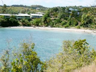 Two Bays Beachside at Cabier in the original and natural Caribbean, Crochu