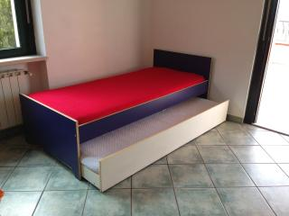 Pull out bed for 2 persons