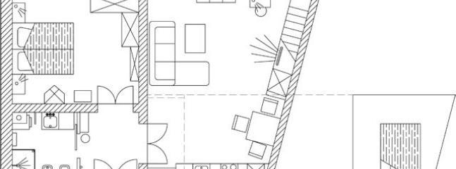Apartment VESNA - floor-plan