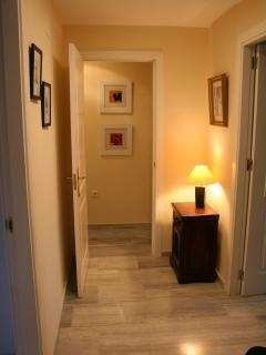 Apartment's entrance hallway