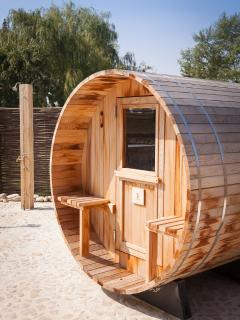 The sauna barrel