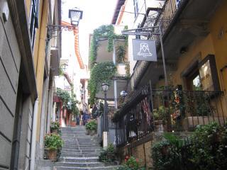 the step near the house