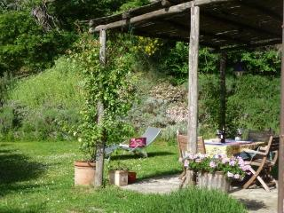 Romantic stone cottage with secluded garden, Roccalbegna
