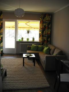 Blick in den Wohnraum / View in the living room