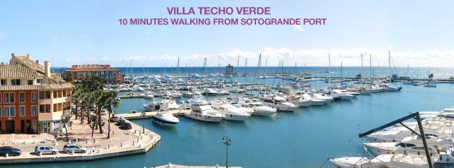 villa in sotogrande 10 miinutes walking from Sotogrande port