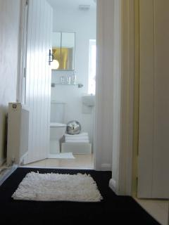 View of Bathroom from top landing