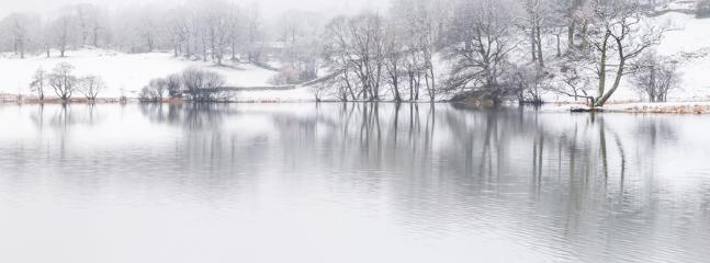 Loughrigg Tarn in WInter