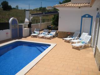 private pool with shower,BBQ & shaded area