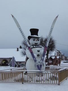 une mascotte hivernale