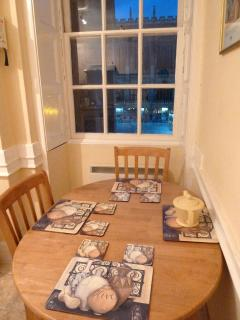 Kitchen table and Dining  View of Abbey