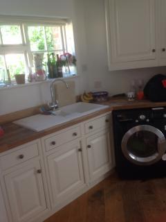 Utility room - washer dryer , American fridge freezer , 2 dishwashers