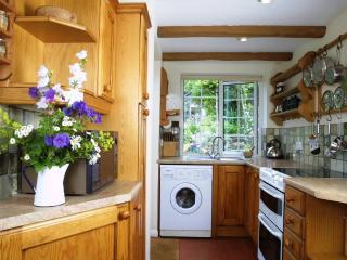 Country kitchen with stable door to the lovely garden